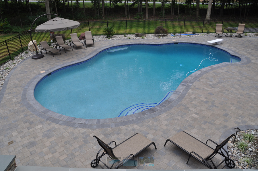 Choosing a pool concrete vs fiberglass rhine pools - Concrete swimming pools vs fiberglass ...