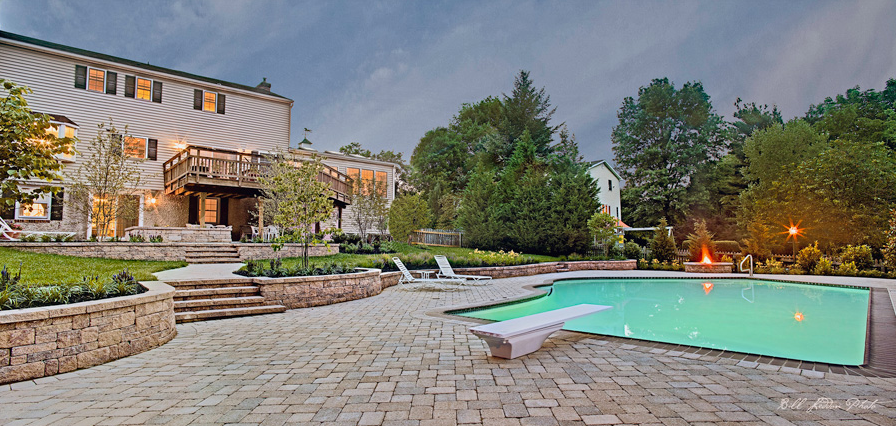 Concrete pools in maryland unlimited potential for design for Pool design maryland