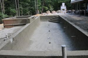 concrete gunite