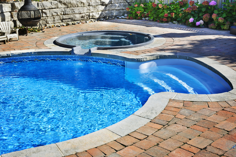 Plunge pool designs for a small yard in maryland for Pool design maryland